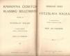 Sebrané spisy Vítězslava Hálka. Díl 2 - povídky a humoresky