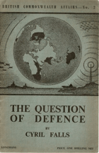 The Question of Defence