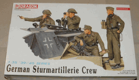 German Sturmartillerie Crew - Dragon 1:35
