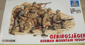 Gebirgsjäger German Mountain Troops - Italeri 1:35