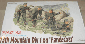 13th Mountain Division Handschar - Dragon 1:35