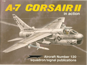 A-7 Corsair in action