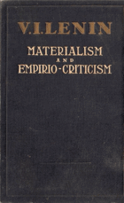 Materialism and Empiro-criticism